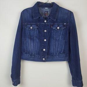 LEVIS Denim Jean Jacket size Large